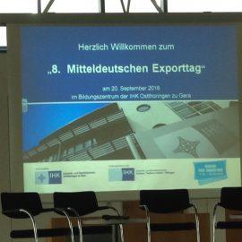 8. Mitteldeutscher Exporttag